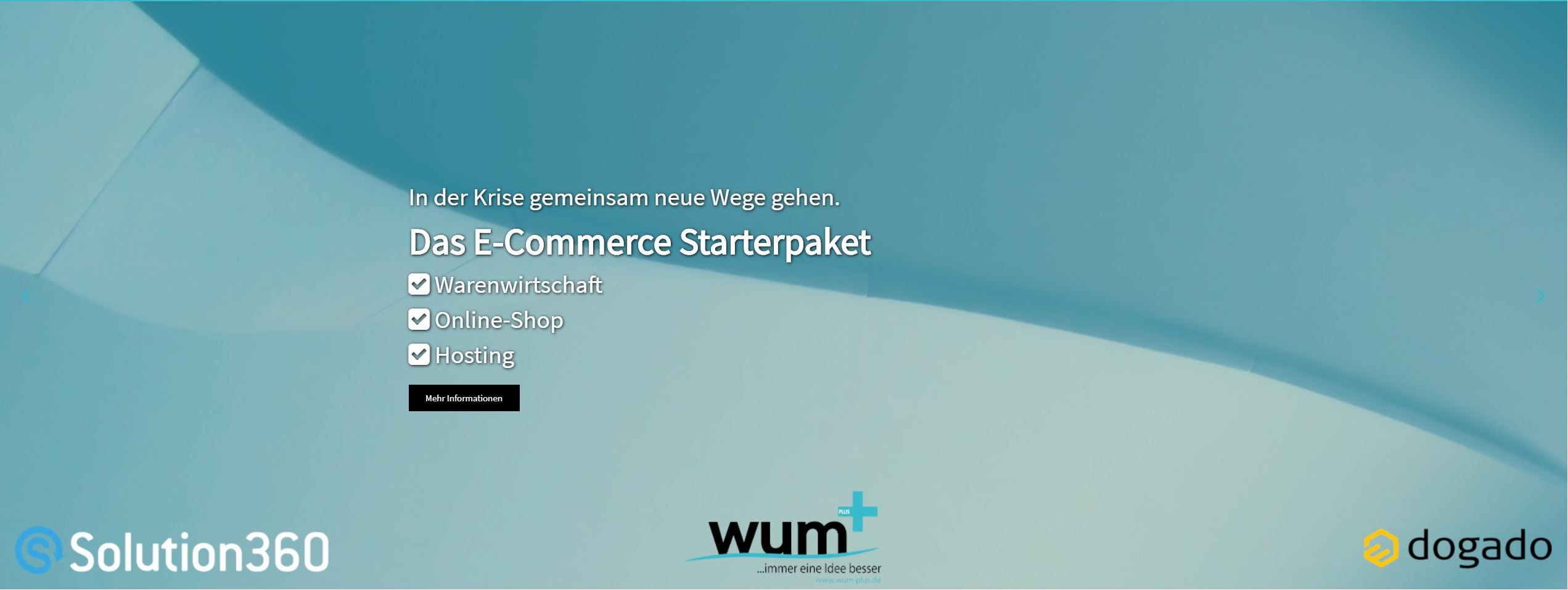 Krisenhilfe - Das E-Commerce Starterpaket