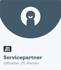 JTL Servicepartner badge